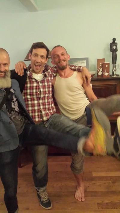 Matthew Morris, Mikel Aristegui, Stéphane Hisler
