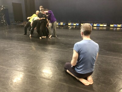 Rehearsals Dancehouse NDCWales