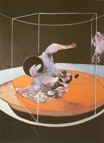 Francis Bacon— Figure in Movement, 1976