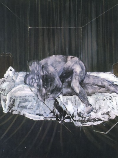 Francis Bacon - Wrestlers - 1953 - oil on canvas